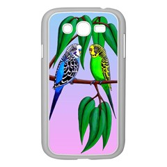 Budgies In The Gum Tree Samsung Galaxy Grand Duos I9082 Case (white) by retz