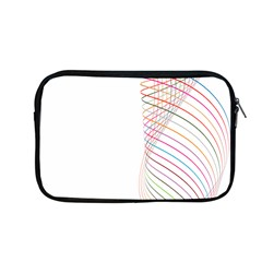 Line Wave Rainbow Apple Macbook Pro 13  Zipper Case by Mariart