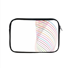 Line Wave Rainbow Apple Macbook Pro 15  Zipper Case by Mariart