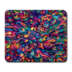 Moreau Rainbow Paint Large Mousepads by Mariart