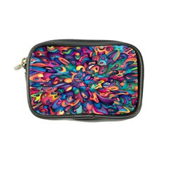 Moreau Rainbow Paint Coin Purse by Mariart