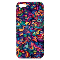Moreau Rainbow Paint Apple Iphone 5 Hardshell Case by Mariart