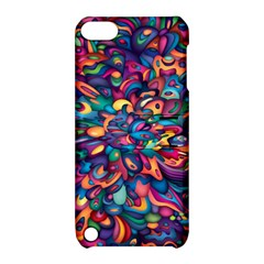 Moreau Rainbow Paint Apple Ipod Touch 5 Hardshell Case With Stand by Mariart