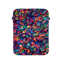 Moreau Rainbow Paint Apple Ipad 2/3/4 Protective Soft Cases by Mariart