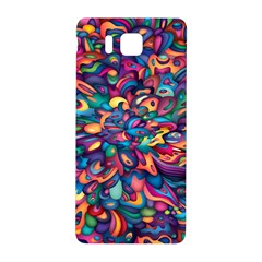 Moreau Rainbow Paint Samsung Galaxy Alpha Hardshell Back Case by Mariart