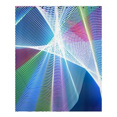 Light Means Net Pink Rainbow Waves Wave Chevron Green Blue Sky Shower Curtain 60  X 72  (medium)  by Mariart