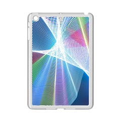 Light Means Net Pink Rainbow Waves Wave Chevron Green Blue Sky Ipad Mini 2 Enamel Coated Cases by Mariart