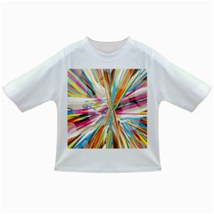 Illustration Material Collection Line Rainbow Polkadot Polka Infant/Toddler T-Shirts
