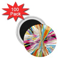 Illustration Material Collection Line Rainbow Polkadot Polka 1.75  Magnets (100 pack)