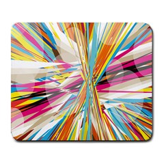 Illustration Material Collection Line Rainbow Polkadot Polka Large Mousepads