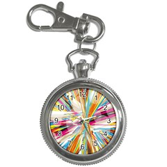 Illustration Material Collection Line Rainbow Polkadot Polka Key Chain Watches