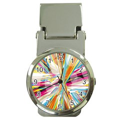 Illustration Material Collection Line Rainbow Polkadot Polka Money Clip Watches