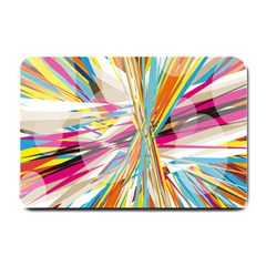 Illustration Material Collection Line Rainbow Polkadot Polka Small Doormat