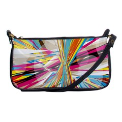 Illustration Material Collection Line Rainbow Polkadot Polka Shoulder Clutch Bags