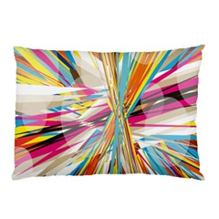 Illustration Material Collection Line Rainbow Polkadot Polka Pillow Case (Two Sides)