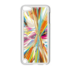 Illustration Material Collection Line Rainbow Polkadot Polka Apple iPod Touch 5 Case (White)