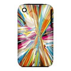 Illustration Material Collection Line Rainbow Polkadot Polka iPhone 3S/3GS