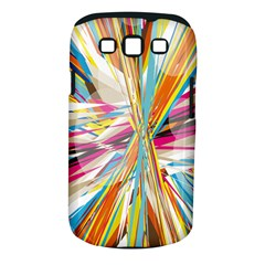 Illustration Material Collection Line Rainbow Polkadot Polka Samsung Galaxy S III Classic Hardshell Case (PC+Silicone)