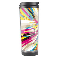Illustration Material Collection Line Rainbow Polkadot Polka Travel Tumbler