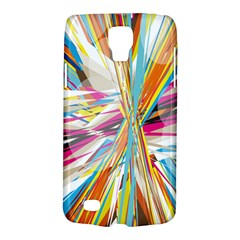 Illustration Material Collection Line Rainbow Polkadot Polka Galaxy S4 Active