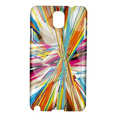 Illustration Material Collection Line Rainbow Polkadot Polka Samsung Galaxy Note 3 N9005 Hardshell Case