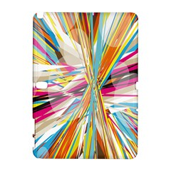 Illustration Material Collection Line Rainbow Polkadot Polka Galaxy Note 1
