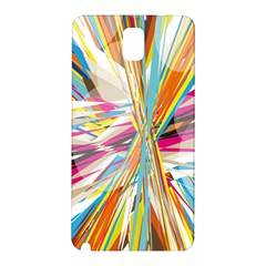 Illustration Material Collection Line Rainbow Polkadot Polka Samsung Galaxy Note 3 N9005 Hardshell Back Case