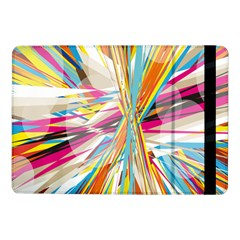 Illustration Material Collection Line Rainbow Polkadot Polka Samsung Galaxy Tab Pro 10 1  Flip Case by Mariart