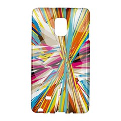 Illustration Material Collection Line Rainbow Polkadot Polka Galaxy Note Edge