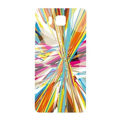 Illustration Material Collection Line Rainbow Polkadot Polka Samsung Galaxy Alpha Hardshell Back Case