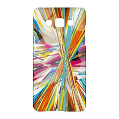 Illustration Material Collection Line Rainbow Polkadot Polka Samsung Galaxy A5 Hardshell Case