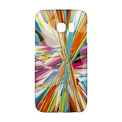 Illustration Material Collection Line Rainbow Polkadot Polka Galaxy S6 Edge