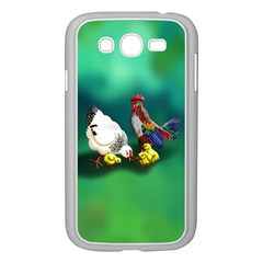 Chickens Phone Cases Samsung Galaxy Grand Duos I9082 Case (white) by retz