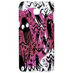Octopus Colorful Cartoon Octopuses Pattern Black Pink Samsung C9 Pro Hardshell Case  by Mariart