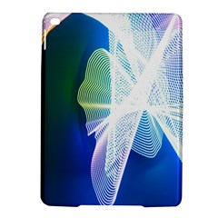 Net Sea Blue Sky Waves Wave Chevron Ipad Air 2 Hardshell Cases by Mariart