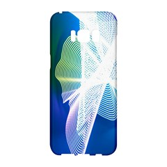 Net Sea Blue Sky Waves Wave Chevron Samsung Galaxy S8 Hardshell Case  by Mariart