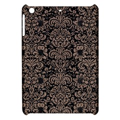 Damask2 Black Marble & Brown Colored Pencil Apple Ipad Mini Hardshell Case by trendistuff