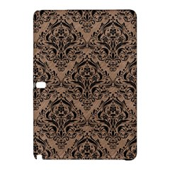 Damask1 Black Marble & Brown Colored Pencil (r) Samsung Galaxy Tab Pro 10 1 Hardshell Case by trendistuff