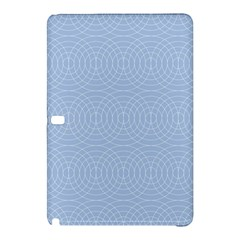 Seamless Lines Concentric Circles Trendy Color Heavenly Light Airy Blue Samsung Galaxy Tab Pro 10 1 Hardshell Case by Mariart