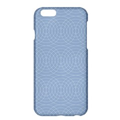 Seamless Lines Concentric Circles Trendy Color Heavenly Light Airy Blue Apple Iphone 6 Plus/6s Plus Hardshell Case by Mariart