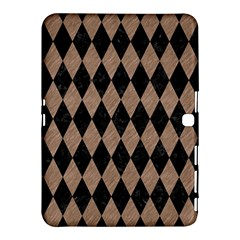 Diamond1 Black Marble & Brown Colored Pencil Samsung Galaxy Tab 4 (10 1 ) Hardshell Case  by trendistuff