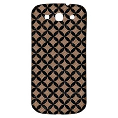 Circles3 Black Marble & Brown Colored Pencil (r) Samsung Galaxy S3 S Iii Classic Hardshell Back Case by trendistuff