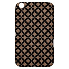 Circles3 Black Marble & Brown Colored Pencil (r) Samsung Galaxy Tab 3 (8 ) T3100 Hardshell Case  by trendistuff