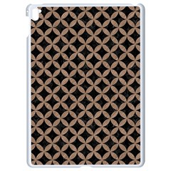 Circles3 Black Marble & Brown Colored Pencil Apple Ipad Pro 9 7   White Seamless Case by trendistuff