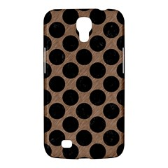 Circles2 Black Marble & Brown Colored Pencil (r) Samsung Galaxy Mega 6 3  I9200 Hardshell Case by trendistuff