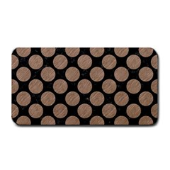 Circles2 Black Marble & Brown Colored Pencil Medium Bar Mat by trendistuff