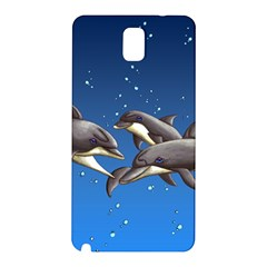 Dolphins Samsung Galaxy Note 3 N9005 Hardshell Back Case