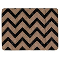 Chevron9 Black Marble & Brown Colored Pencil (r) Samsung Galaxy Tab 7  P1000 Flip Case by trendistuff