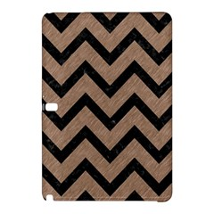 Chevron9 Black Marble & Brown Colored Pencil (r) Samsung Galaxy Tab Pro 10 1 Hardshell Case by trendistuff
