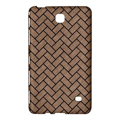 Brick2 Black Marble & Brown Colored Pencil (r) Samsung Galaxy Tab 4 (7 ) Hardshell Case  by trendistuff